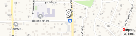 Шолпан на карте Туймебаевой