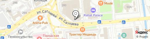 Фотостудия Руслана Сарсенгалиева на карте Алматы