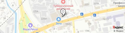 Golden Dragon Fitness на карте Алматы