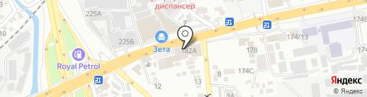 Мастер Китурами на карте Алматы