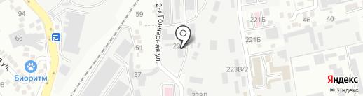 Керим Жол на карте Алматы