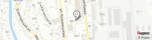 Eskeldy на карте Алматы