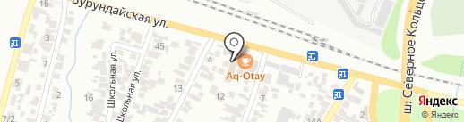 Nomad на карте Алматы