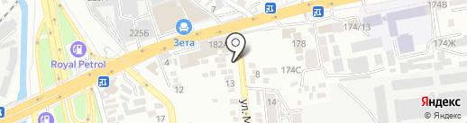 Чайхана на Муратбаева на карте Алматы