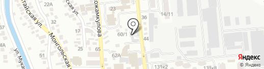 Subarik на карте Алматы