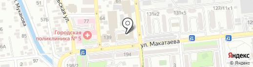 АДК Экспресс, ТОО на карте Алматы