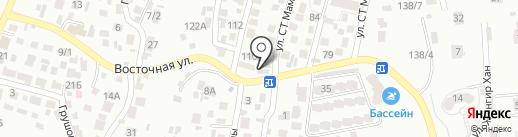 Майра, овощной магазин на карте Алматы