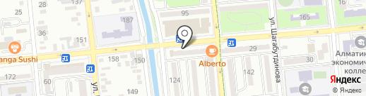 Салон на карте Алматы