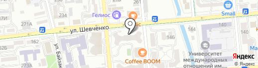Fresh market на карте Алматы