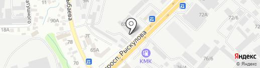 Выставочный центр китайского электрического оборудования и машинной техники, ТОО на карте Алматы