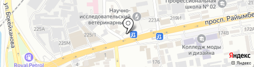 Fazenda на карте Алматы