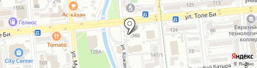 КВИНС, Алматинская пресвитерианская церковь на карте Алматы