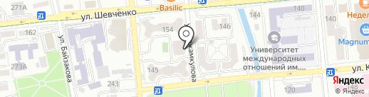 Жастар Group на карте Алматы