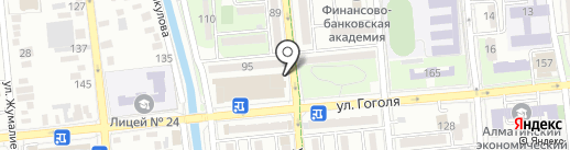 Ак-кус на карте Алматы