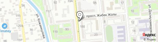 Эгоист на карте Алматы
