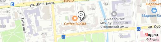 Сибирское здоровье на карте Алматы