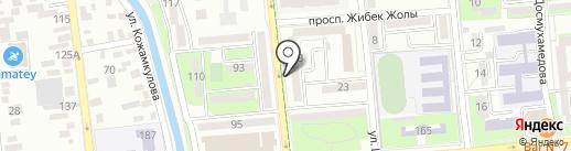 Lash & Brow Room на карте Алматы