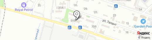 La Fleur на карте Алматы