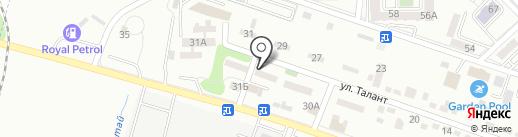 Усть-Каменогорский завод тепловых насосов на карте Алматы