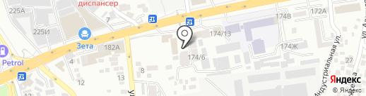 Мансард на карте Алматы