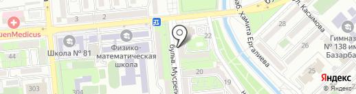 Центр УЗИ доктора Ембергенова на карте Алматы