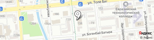 DataClick на карте Алматы