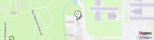 GENESIS на карте Алматы
