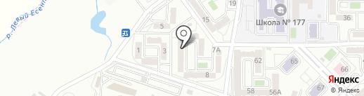 Ай Мерей на карте Алматы