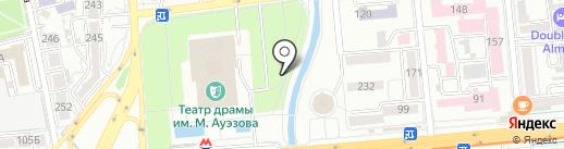 Dark на карте Алматы