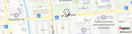 Lavida на карте Алматы
