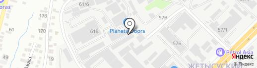NAGEXART, ТОО на карте Алматы