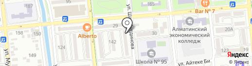 ПромСпецАккумуляторы, ТОО на карте Алматы