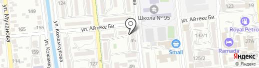 Bespaev Januzakoff, ТОО на карте Алматы