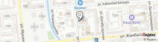 Петролеум трейд, ТОО на карте Алматы