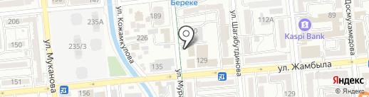 STATUS на карте Алматы