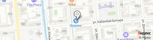 Union Pro Management, ТОО на карте Алматы