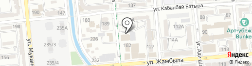 ГЕРМЕС на карте Алматы