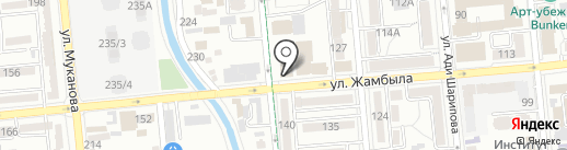 Алмалы Гарант на карте Алматы