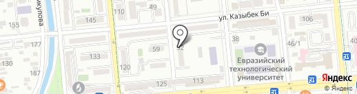 Ассоль на карте Алматы