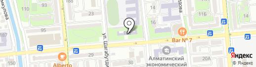 Детская музыкальная школа №2 им. Р. Глиера на карте Алматы