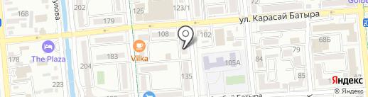 FUSION на карте Алматы