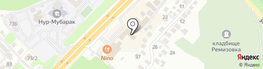 VILLA Boutiques & Restaurants на карте Алматы