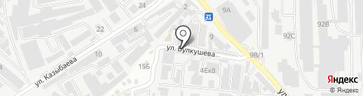 Точприбор на карте Алматы