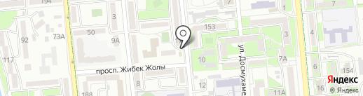 Киоск по продаже кулинарных изделий на карте Алматы