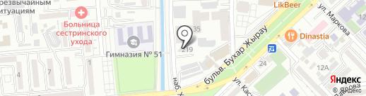 Самай, ТОО на карте Алматы