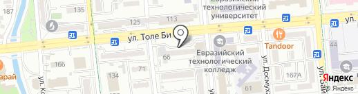 Стоматологическая клиника доктора Битекеновой на карте Алматы