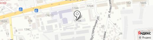 Eurasia Tanzor на карте Алматы