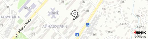Жанболат на карте Алматы