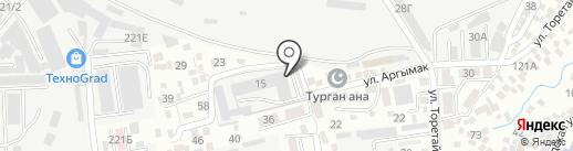 КазЛегПром-Алматы на карте Алматы