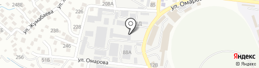 МОС ИнжГеоСтройПроект на карте Алматы